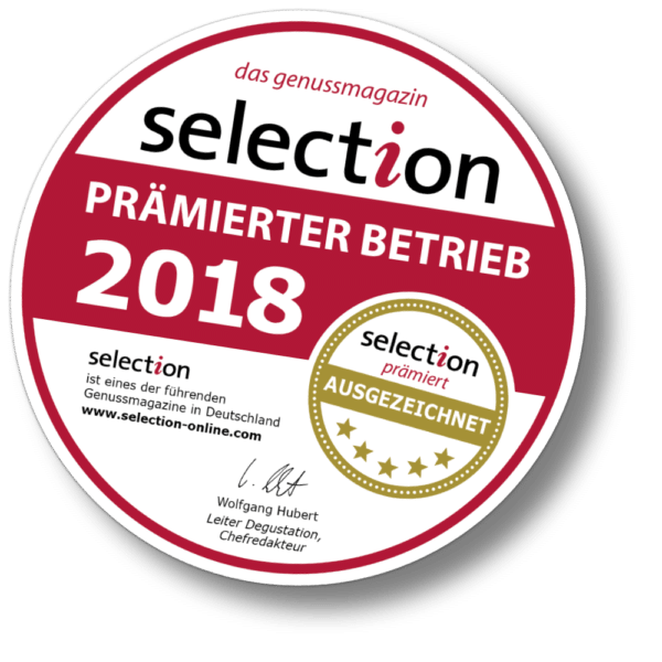 Weingut Dax in Ernst / Mosel - prämierter Betrieb 2018 - selection